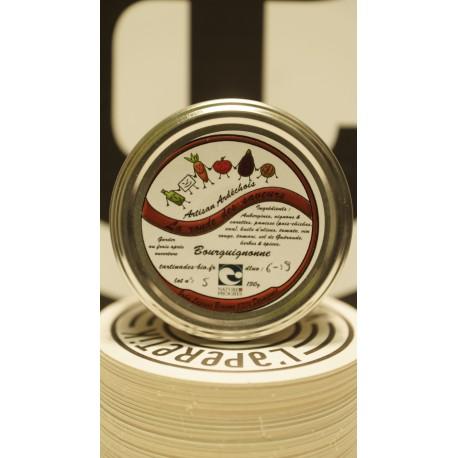 terrine bourguignon 130 g