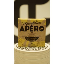 Apéro 100 - Tenebrio Sigillatus - Curry MICRODELICES