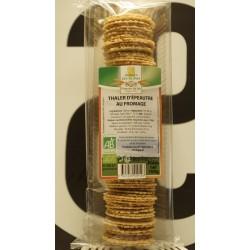 Thaler d'épeautre au fromage bio 15% 100 g