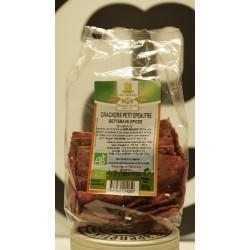 Cracker petit épeautre betterave épicée  bio 80 g