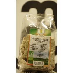 Cracker petit épeautre ail des ours bio 80 g