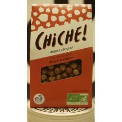 CHICHE!, Poids chiches grillés piment et oignons 90 g