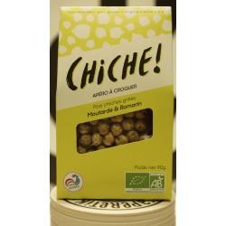 CHICHE! Poids chiches grillés moutarde et romarin 90 g
