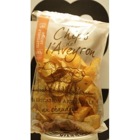 chips au piment d'espelette 125 g