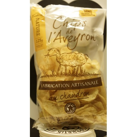 chips nature 125 g