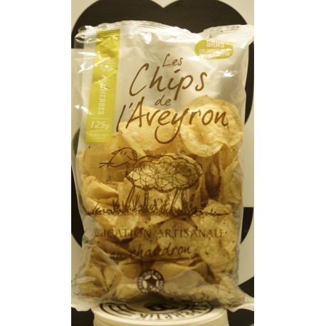 chips aux herbes 125 g