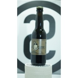 Bière brune Plan B 33cl