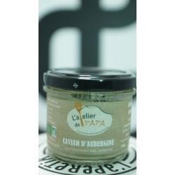 Caviar d'aubergine, 100g, L'atelier de Papa