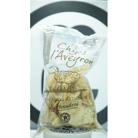 chips au poivre noir 125 g