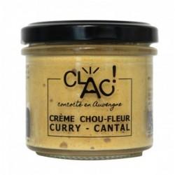 Crème de chou-fleur curry &...