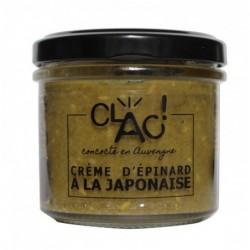 Crème d'épinard à la...