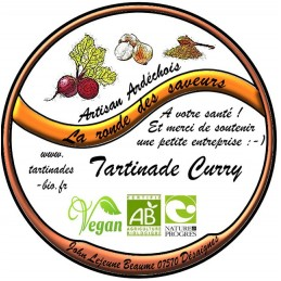 Tartinade Curry Bio La...
