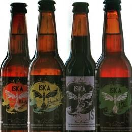 Bière blonde Iska BIO 75cl...