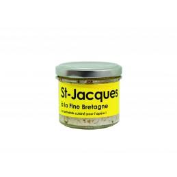 Tartinade de Saint-Jacques...