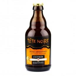 Bière cuivrée cèpes Tete...