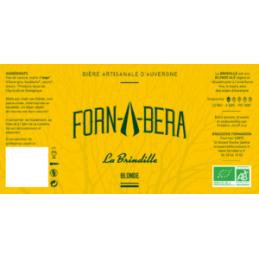 Bière blonde BIO Fornabera...