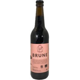 Bière brune BIO la belle...