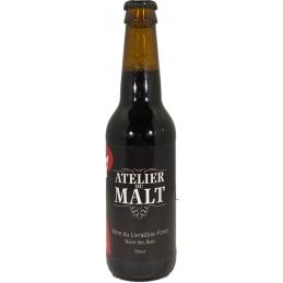 Bière stout Atelier du malt...
