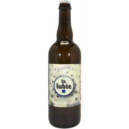Bière blanche BIO la lubie...