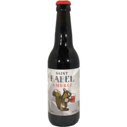 Bière ambrée Saint Babel...