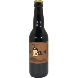 Bière brune BIO Plan B 33cl...