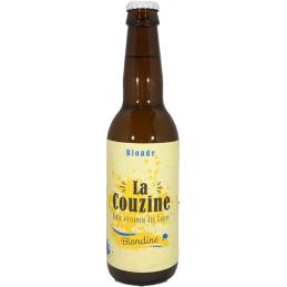 Bière blonde la Couzine...