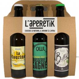 Coffret 3 bières Auvergnate