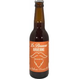Bière ambrée Le brasseur...