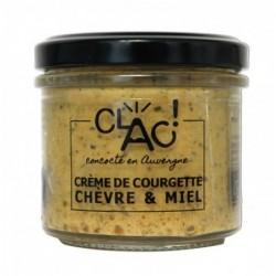 Crème de courgette chèvre &...
