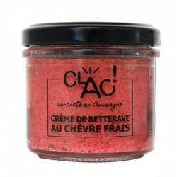 Crème betterave chèvre...